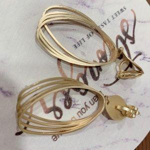 Clip one earrings